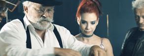 Screenshot Musikvideo: Ramona Rotstich - Regenbogenmaschine