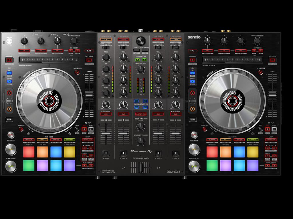DJ-Controler Pioneer DJ DDJ-SX3