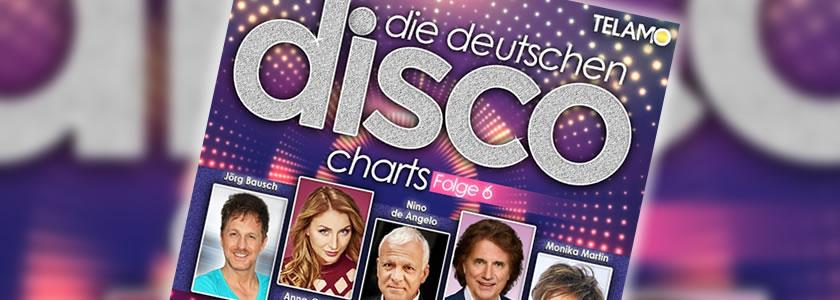 Foto: Cover Die Deutschen Disco Charts Folge 6